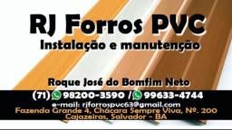 INSTALAÇÃO E MANUTENÇÃO DE FORRO PVC