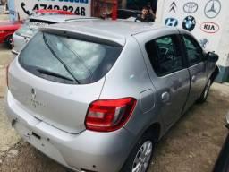 Sucata Renault Sandero 1.0 2016 Retirada De Peças