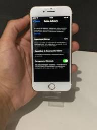 IPhone 7 gold no plástico