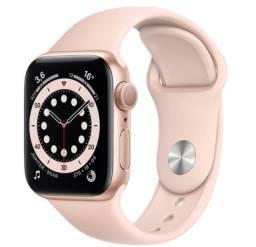 Apple Watch S6 44mm Gold Dourado / Lacrado / Aceitamos o seu na troca !