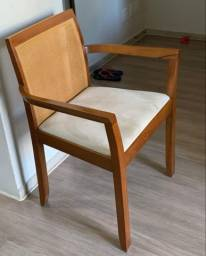 Elegantes cadeiras de jantar Gardel