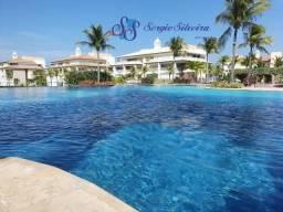 Golf Ville Resort térreo com 115m² apartamento com 3 suítes Porto das Dunas