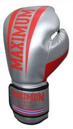 Luva de couro maximum/ Muay Thai, Boxe.