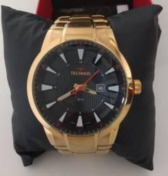 Relógio Grande Technos Executive Dourado - Masculino