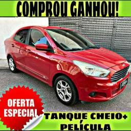 TANQUE CHEIO SO NA EMPORIUM CAR!!! FORD KA 1.5 + SEL ANO 2015 COM MIL DE ENTRADA