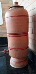 Filtro de barro velho (4 Litros com vela)