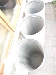 Tubo completo em 5 tubos de coifa profissional