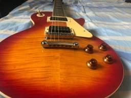 Guitarra Epiphone Lespaul Coreana 2005 c/ captadores Slash