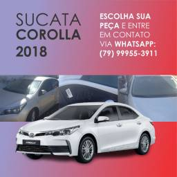 Corolla 2018 para retirada de peças