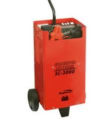 Carregador De Bateria Sc-3000 Eletrônico 30a 12/24v 220v 60hz