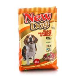 Ração Para Cães Adultos 25kg New Dog