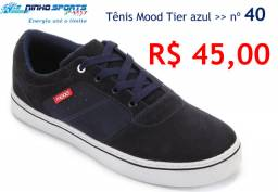 Tênis Mood Tier azul - nº 40