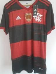 Camisa oficial do Flamengo pronta entrega campeão da libertadores