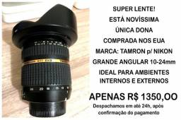 Vendo Super Lente Tamron 077 10-24mm Di II