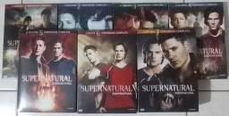 Série Sobrenatural Dvd originais 7 temporadas