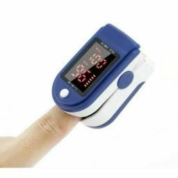 Oxímetro De Dedo Display Digital<br>Oled Pulse Monitor De Saturação e batimentos cardíacos