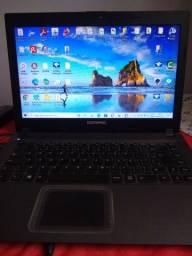 Notebook Compaq 500 GB + 4 GB RAM + Windows 10 + Processador Intel Celeron 2.16 GHz
