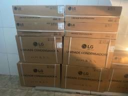 Ar-condicionado INVERTER NOVO LACRADO LG 9MIL BTUS VOICE