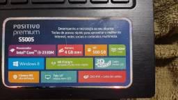 Notebook positivo Premium S5005 4GB