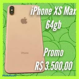 IPhone XS Max 64gb Dourado Promo