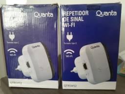 2 Repetidores de Sinal Wi-Fi Quanta Qtrsw52