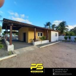 Casa com 3 dormitórios para alugar por R$ 400/dia - Cidade Balneária Novo Mundo I - Conde/