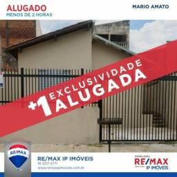 Casa com 2 dormitórios para alugar, 80 m² por R$ 600,00/mês - Conjunto Habitacional Ana Ja