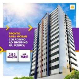 Prontos para Morar para Venda em Maceió, Jatiuca, 2 dormitórios, 1 suíte, 2 banheiros, 1 v