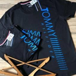 Kit Camisetas Multimarcas Tamanho G - 4 Camisetas