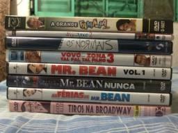 Lote com 8 Dvds originais de comédia