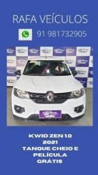Título do anúncio: Renault kwid zen 1.0 2021r$ 49.840-f/ com nildo