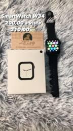 Smartwatch W34 LEIA A DESCRIÇÃO