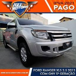 Ford Ranger XLS 2.5 Cabine Dupla 2013 com GNV 5ª Geração
