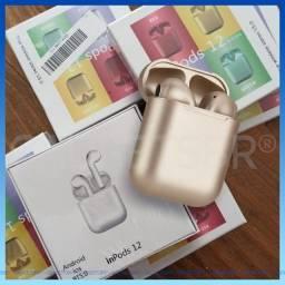 Fone Bluetooth Dourado (Aceito Cartões 3X sem juros)