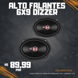 Alto Falantes 6x9 Dizzer 140w PAR