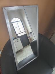 Título do anúncio: Espelho borda metalica