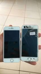 Vendo iphone 7 estragado tirar peças