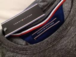 Camiseta Tommy Hilfiger Cinza XL