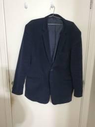 Título do anúncio: Blazer Masculino Azul Camurça