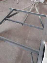 Chassi para instalação treiler ou carretinha baú legalizado com placas mercosul