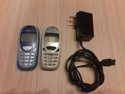 Celular Siemens C55 com capa reserva