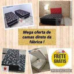 Mega oferta de camas direto da fábrica