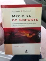 Livro Medicina do Esporte - Quase novo