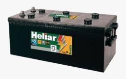 Bateria de Caminhão Heliar 180 Amperes HFT180TD 12x sem juros no cartão