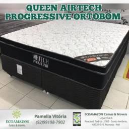 Título do anúncio: Cama Queen Size Molas nanolastic entrega imediata