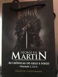 Título do anúncio: Coleção completa de game of Thrones