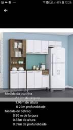 Armário cozinha com balcão novo barato entrego monto