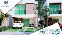 Título do anúncio: 52- Marilia - Casa Duplex - no Araçagy - ultimas unidades