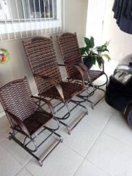 Título do anúncio: Conjunto de cadeiras para terraço