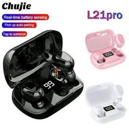 Fones De Ouvido L21 Pro Tws Bluetooth Sem Fio À Prova D 'Água Intra-Auriculares